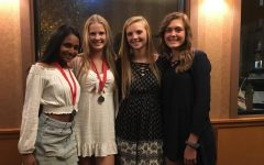 Girls Varsity Tennis Make It to MN AA State Doubles Tournament