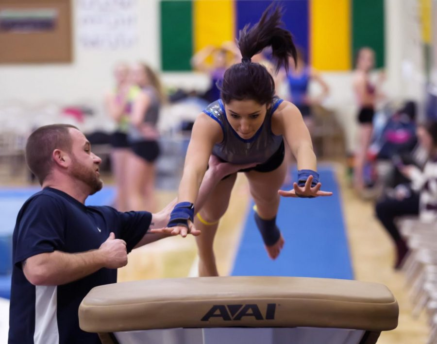 Gymnastics Team Reaching for New Heights
